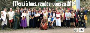 L'équipe de bénévole de Rochefort en fête 2018