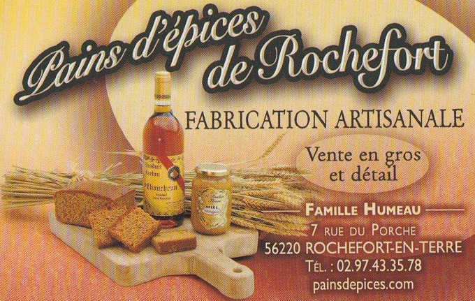 Pains d'épices de Rochefort